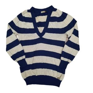 Aritzia Wilfred Cashmere Blend Striped Sweater